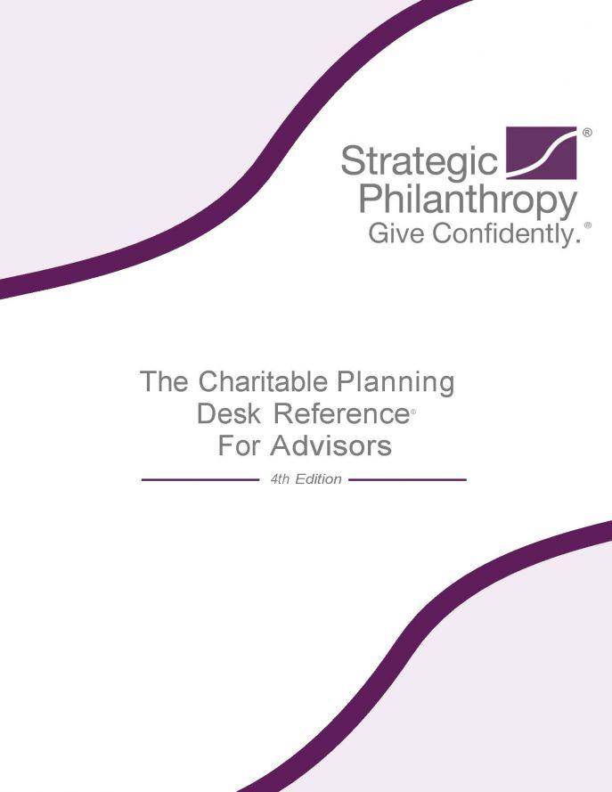 Member benefits naepc the charitable planning desk reference for advisors fandeluxe Images